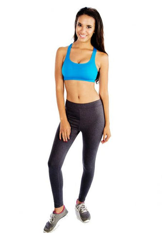 Funky Aqua Blue Sports Bra