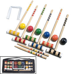Deluxe Croquet Set - Giantmart.com