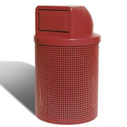 Coated Trash Receptacle - Giantmart.com