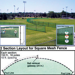 Outfield Fencing - Giantmart.com