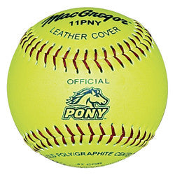 Macgregor Pony Approved Softball - Giantmart.com