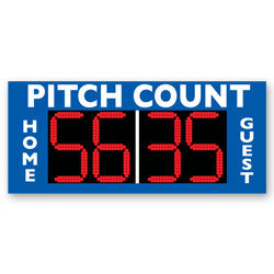 Pitch Count Stand