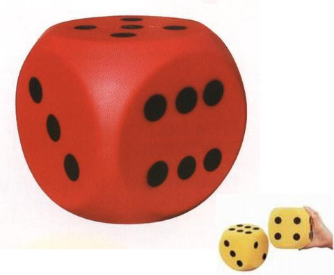 No Edge Foam Dice - Giantmart.com