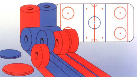 Hockey Paper Line Kit Complete - Giantmart.com