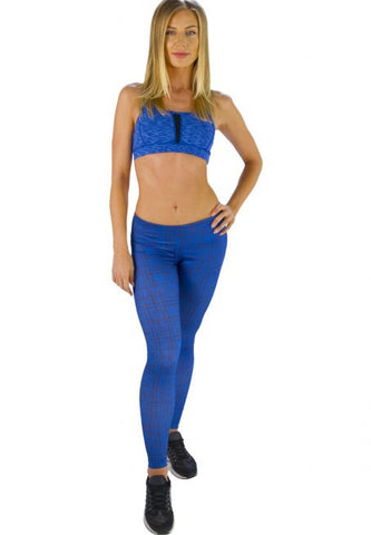 Aqua Blue Tights Legging - Giantmart.com
