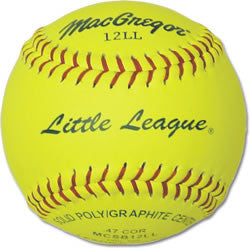 Macgregor Little League Approved Softball - Giantmart.com