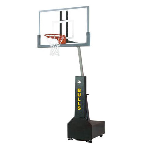 Bison Club Court Portable Basketball Systems