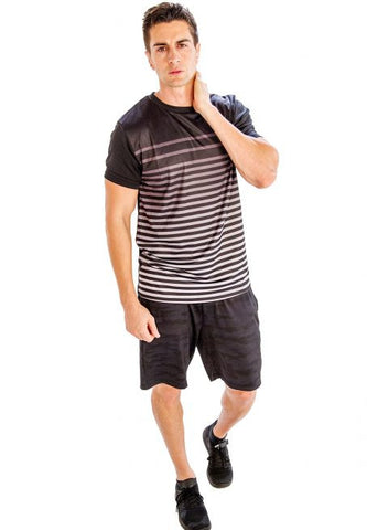 Black And White Striped Shirt - Giantmart.com