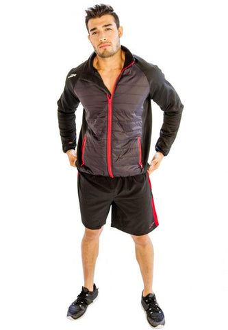 Black Jacket with Red Borders - Giantmart.com
