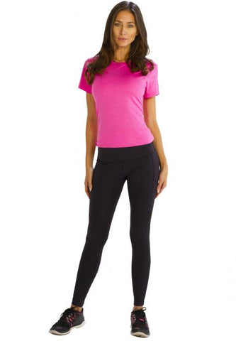 Comfy Black Fitness Leggings - Giantmart.com