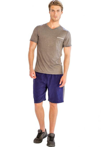 Comfy Half Sleeve V-Neck T Shirt - Giantmart.com