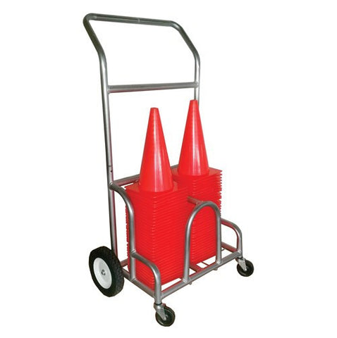 Double EZ-Roll Cone Cart