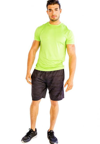 Neon Green Half Sleeve T-Shirt