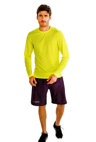 Neon Yellow Full Sleeve T-Shirts