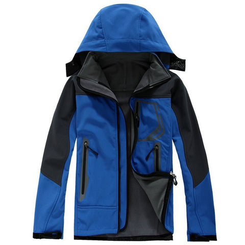 CLASSIC Outdoor Sport Camping Hiking Softshell Jacket Men