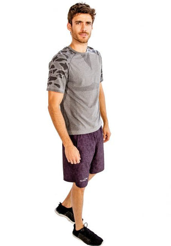 Grey Half Sleeve T-Shirt - Giantmart.com