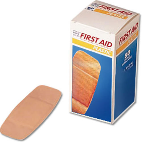 Adhesive Bandages 2'' X 4-1-2'' 50-Box
