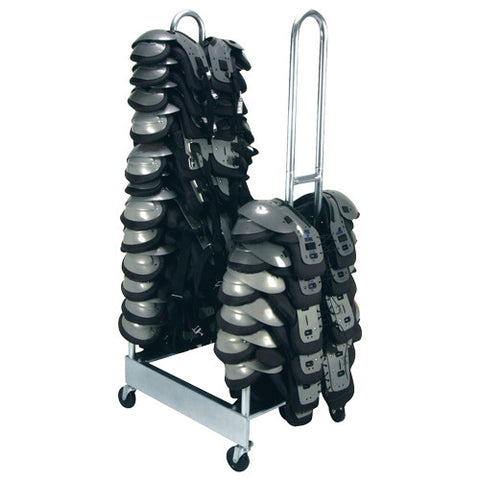 2 Stack Shoulder Pad Rack - Giantmart.com