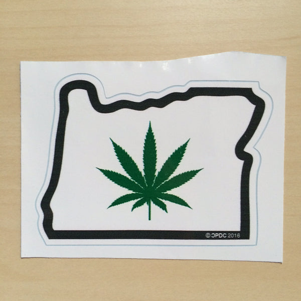 Oregon Weed - Sticker - Large