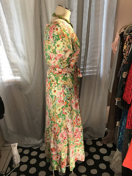COLDWATER CREEK Womens Floral Dress// Maxi// Garden// Size 10// spring fashion
