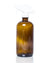 16 oz amber glass spray bottle (white trigger style spray nozzle)