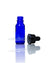1/2 oz. cobalt blue glass bottle with dropper cap