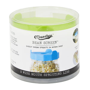 mason tops bean screens sprouting lids for wide mouth mason jars