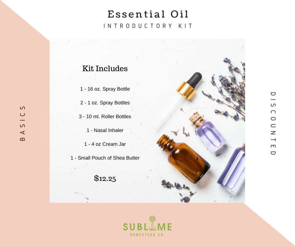 Introductory to Essential Oils Kit