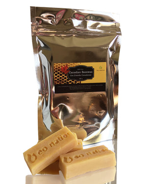 100% Pure Canadian Beeswax bars and packing  (180 g.)
