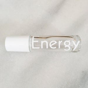 "White ""Kabel"" Decals for 10 ml Rollers"