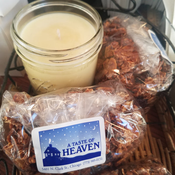 A Taste of Heaven Mason Jar Candles