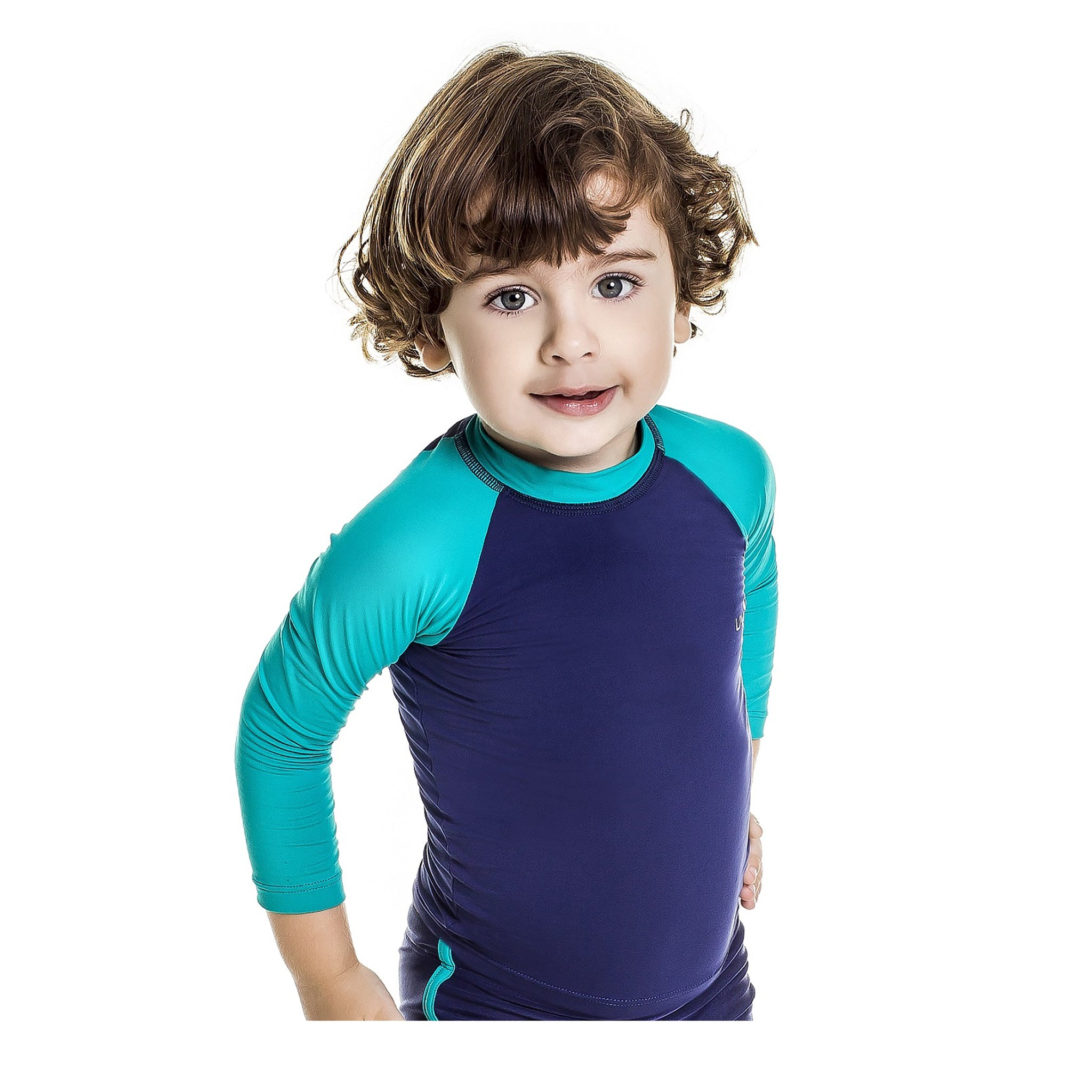 UV SOLAR Boy's rash guard UPF 50+ - Diva Brazilian Swimwear Collection
