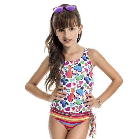 Girl's one piece swimsuit - Diva Brazilian Swimwear Collection