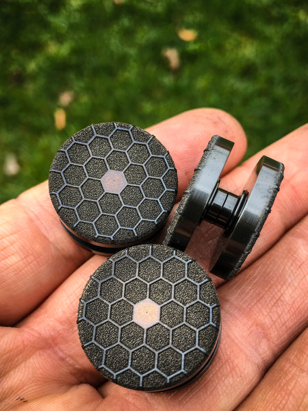 Zirc Laser Engraved Bearing Caps