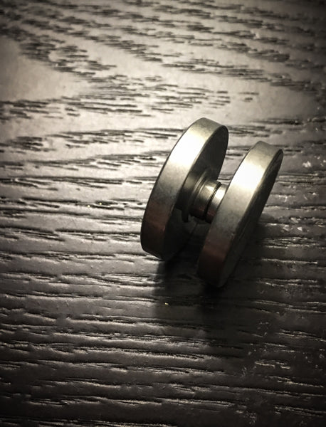 Tungsten Thick Bearing caps - Stonewashed