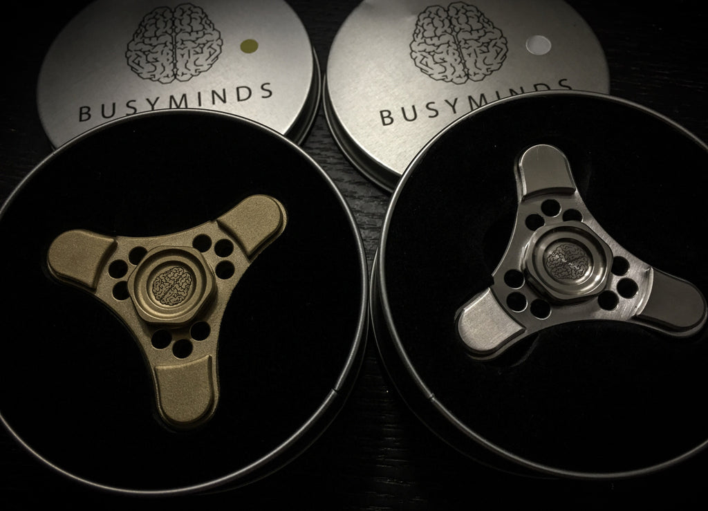 Cortex Fidget Spinner by BusyMinds