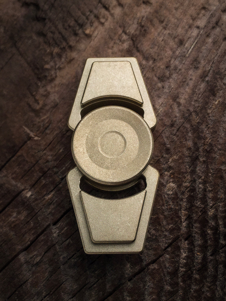 ZeroFeud Compass Mini - Brass