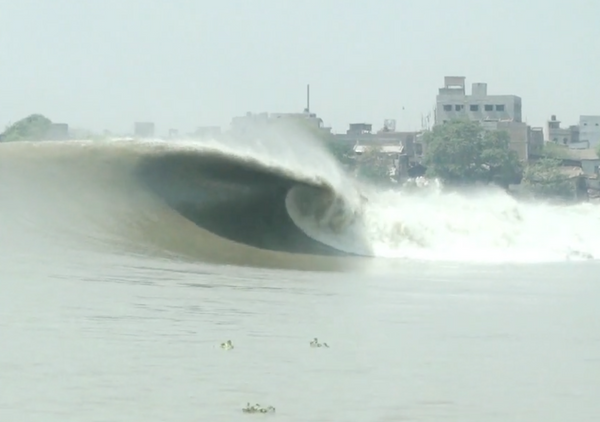 Surfing the Ganges?