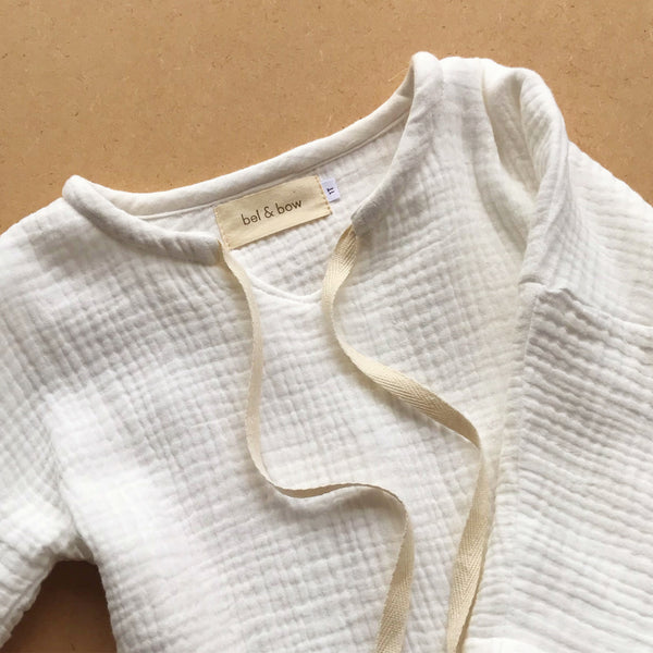 Everyday Muslin Top - White