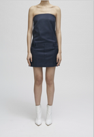 SUGI - MINI STRAPLESS DRESS / NAVY