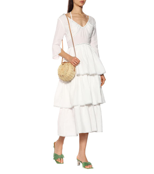 REJINA PYO-CLEO DRESS / Linen White