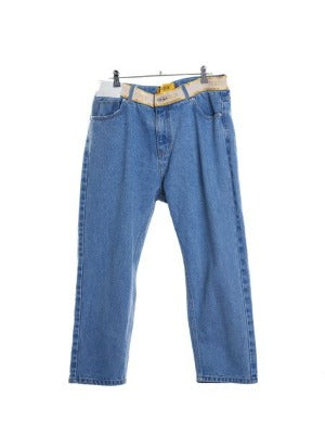 GOODBOY - GOODBOY BANDING DENIM PANTS / BLUE