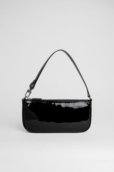 BY FAR - 20SS RACHEL BLACK PATENT LEATHER