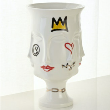 JONATHAN ADLER - WHOLESALE EXCLUSIVE - DORA MAAR URN / GRAFFITI