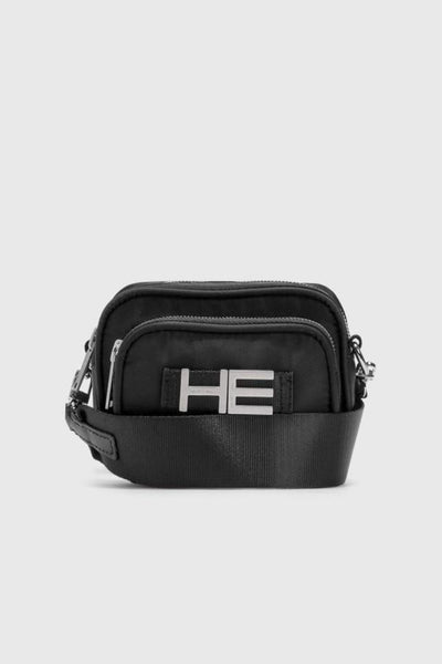 HELIOT EMIL - SMALL CAMERA BAG / BLACK