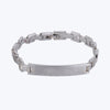 Friendship band - Silver plated bracelet