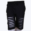 ZSolt Ripped Shorts (Black)