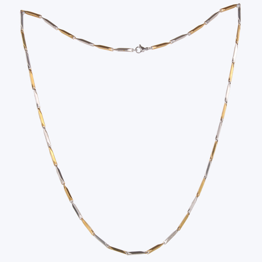 Stylish Gold Plated Dual tone Chain