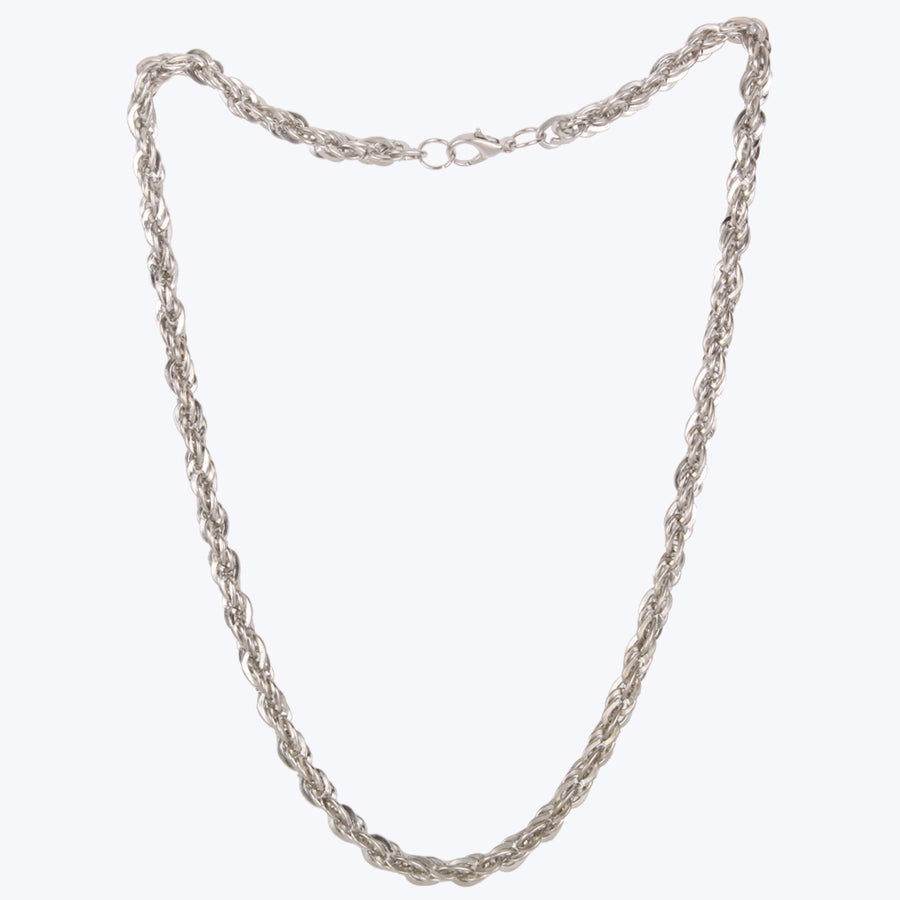 Silver Plated Stainless Steel Chain