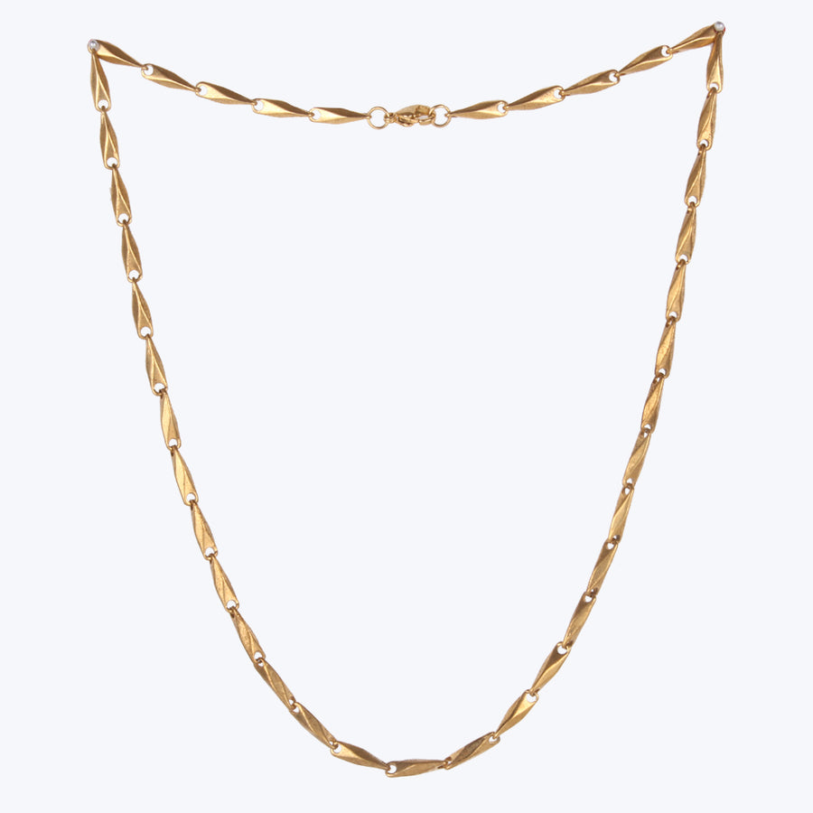 Stylish Gold Plated Chain